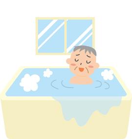 お風呂で温まり、身体を整える